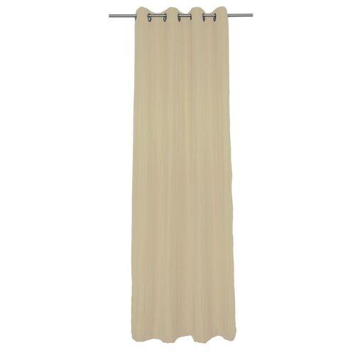 Wirth Vorhang »LANGWASSER«, , Ösen (1 Stück), beige