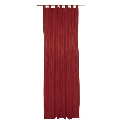 Wirth Vorhang »LANGWASSER«, , Schlaufen (1 Stück), rot
