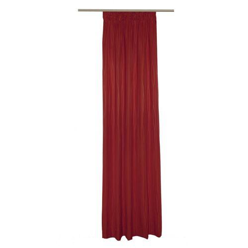 Wirth Vorhang »LANGWASSER«, , Smokband (1 Stück), rot