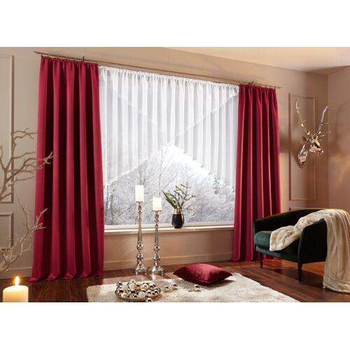 my home Kuvertstore »Eby«, , Kräuselband (1 Stück), Gardine, Fertiggardine, transparent, weiß