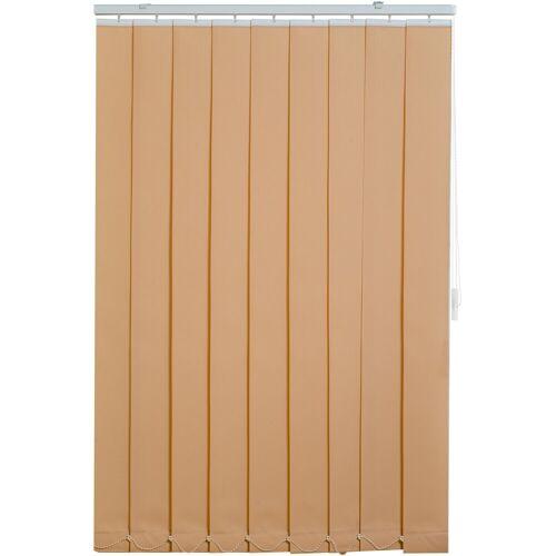 sunlines Lamellenvorhang, , mit Bohren, beige