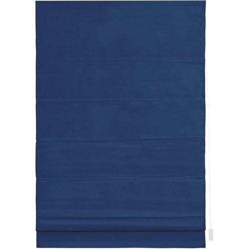 LICHTBLICK Raffrollo »Raffrollo«, , mit Klettschiene, Verdunkelung, im Fixmaß, blau