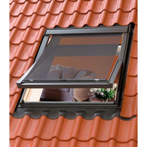 VELUX Hitzeschutzmarkise für verschiedene Dachfenstergrößen, schwarz