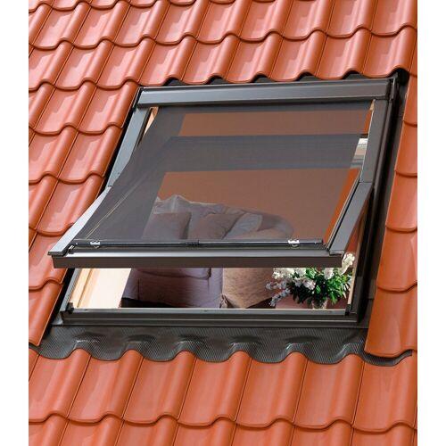 VELUX Hitzeschutzmarkise für Dachfenstergröße: FK04, FK06, FK08, F04, F06, F08, schwarz