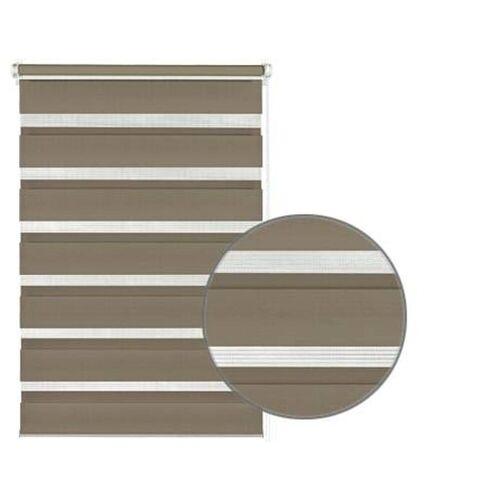 GARDINIA Doppelrollo »EASYFIX Doppelrollo mocca 120 x 150«,