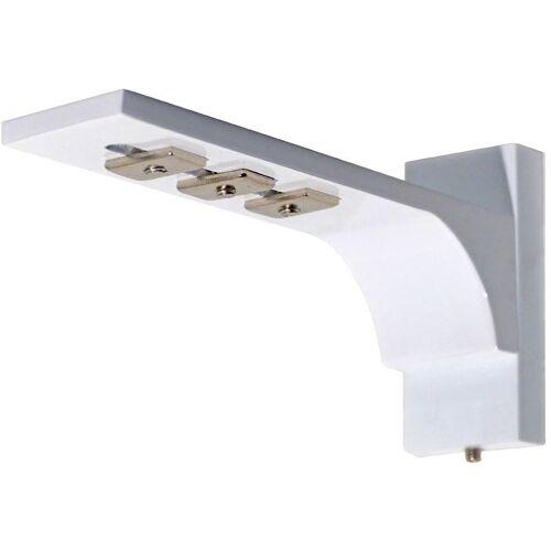 indeko Wandträger, , Gardinenschienen, (1-St), für Innenlaufsysteme, weiß