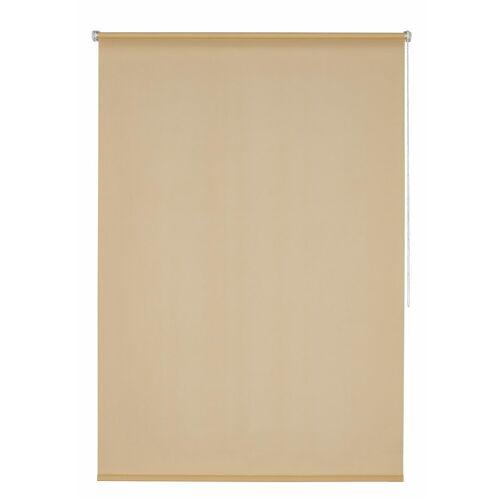 K-HOME Seitenzugrollo »Klemmfix-Rollo«, , Lichtschutz, ohne Bohren, 1 Stück, beige