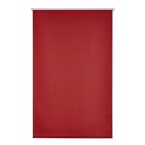 K-HOME Seitenzugrollo »Klemmfix-Rollo«, , verdunkelnd, ohne Bohren, 1 Stück, rot