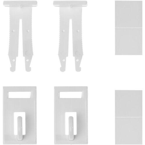 LICHTBLICK Klemmträger »Klemmfix Haken«, , Fensterdekoration, (Set, 2-tlg), für Fensterdekoration