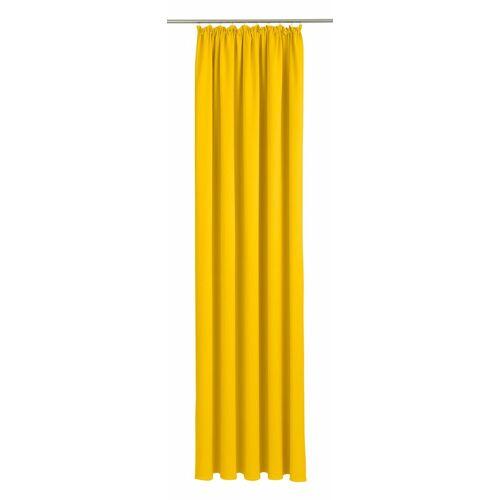 Wirth Vorhang »Dim out«, , Kräuselband (1 Stück), gelb