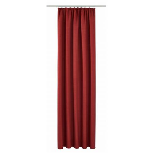 VHG Vorhang »Pina«, , Kräuselband (1 Stück), rot