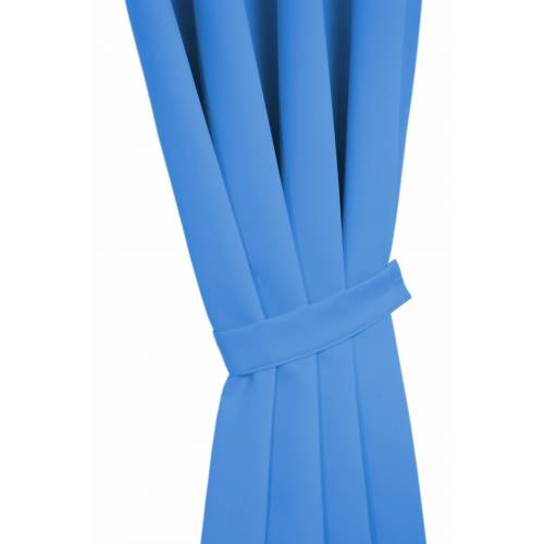 Wirth Raffhalter »DIM OUT«, , Gardinen, Vorhänge, (2-tlg), blau