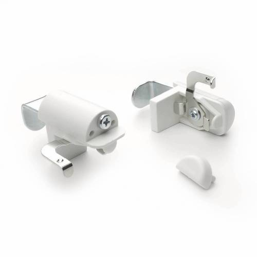 Liedeco Klemmträger, , Jalousien, (Set, 2-tlg), Blindfix für Aluminium-Jalousien