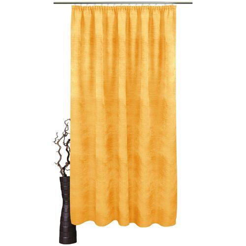 VHG Vorhang »Julian«, , Kräuselband (1 Stück), gelb