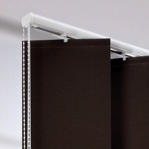 Liedeco Lamellenschiene, , (1-tlg), für XXL-Lamellen, mit 25 cm Breite