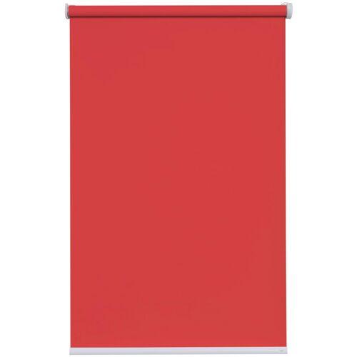 sunlines Batterierollo »Premium Style Batterierollo Uni«, , Lichtschutz, mit Bohren, im Fixmaß, rot