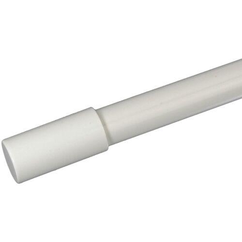 Liedeco Gardinenstangen-Endstück »Zylinder mit Rille«, , Gardinen, (Set, 1-St), für Gardinenstangen Ø 16 mm, weiß