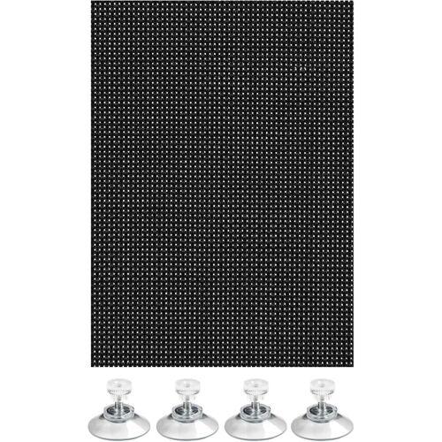 GARDINIA Sonnenschutz-Fensterfolie »Flexibler Sonnenschutz mit Saugnäpfe«, , transparent, Blend- und Hitzeschutz