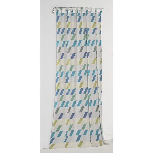 Wirth Vorhang »Bray«, , Schlaufen (1 Stück), blau