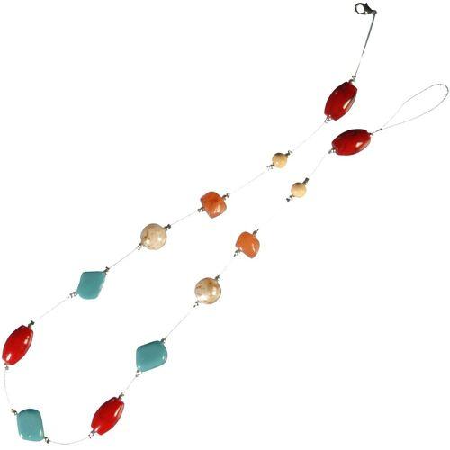 Liedeco Dekokette »Pearl«, , Gardinen, Seitenschals, (1-St), zur Dekoration von Seitenschals, Gardinen