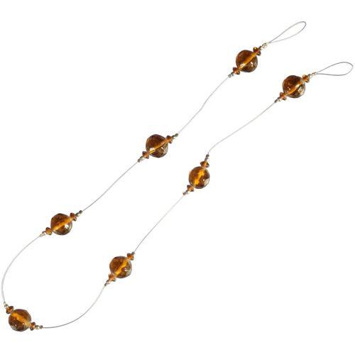 Liedeco Dekokette »Opal«, , Gardinen, Seitenschals, (1-St), zur Dekoration von Seitenschals, Gardinen