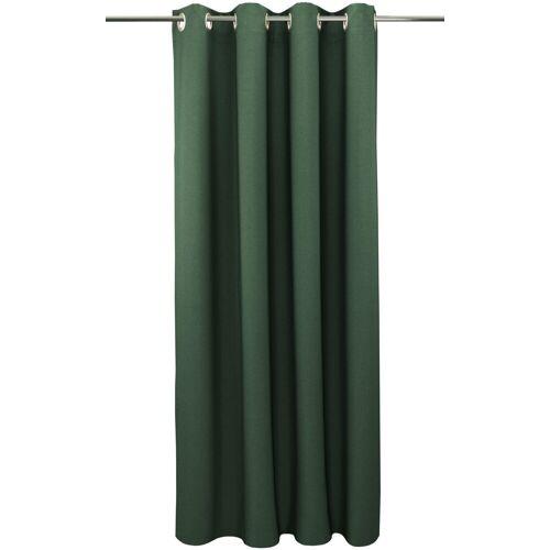 """VHG Vorhang »Una«, , Ösen (2 Stück), Vorhang """"Una"""", , mit Ösen, grün"""