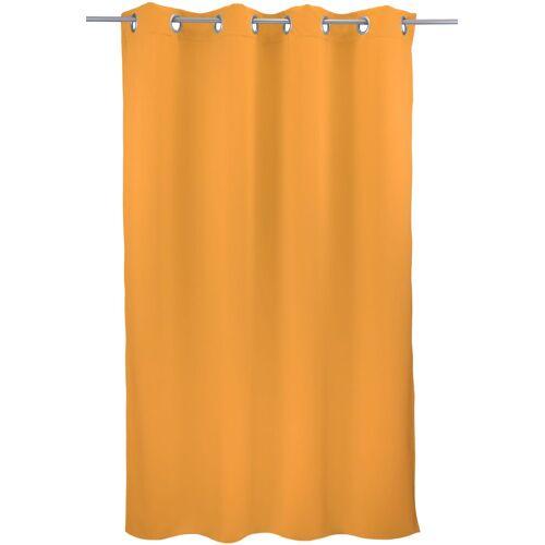 "VHG Vorhang »Leon1«, , Ösen (1 Stück), Vorhang ""Leon"", , mit Ösen, hellgelb"