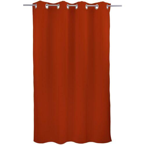 "VHG Vorhang »Leon1«, , Ösen (1 Stück), Vorhang ""Leon"", , mit Ösen, terra"