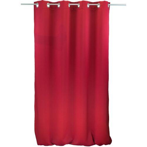 "VHG Vorhang »Ben1«, , Ösen (1 Stück), Vorhang ""Ben"", , mit Ösen, rot"