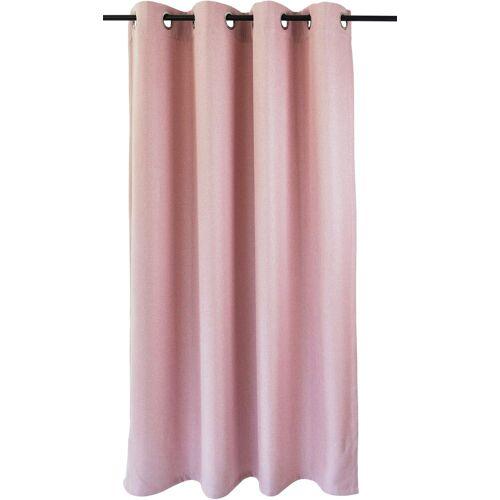 Kutti Vorhang »Dimout«, , Ösen (1 Stück), Vorhang Dimout, rose