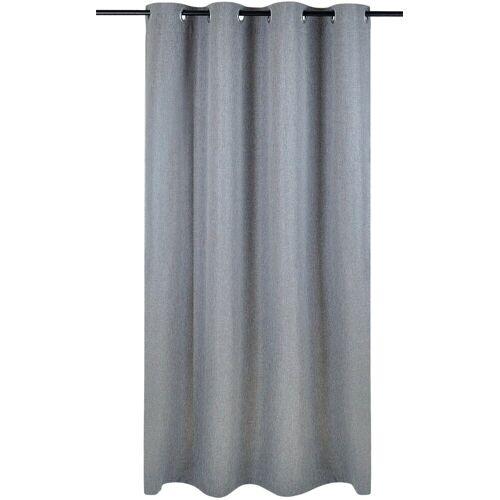 Kutti Vorhang »Dimout«, , Ösen (1 Stück), Vorhang Dimout, grau