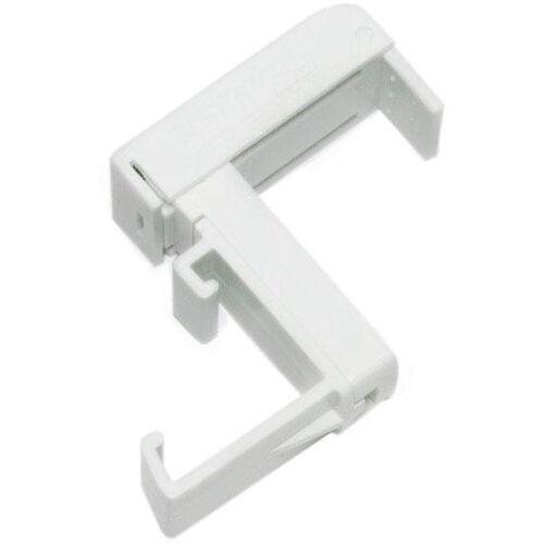 GARDINIA Sichtschutzbefestigung »Klemmträger, Kunststoff«, , Jalousien, (2-tlg), Serie Aluminium-Jalousie 25 mm