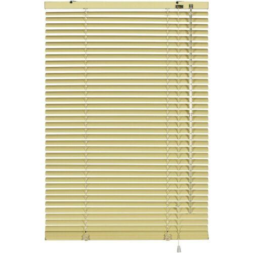 GARDINIA Jalousie »Aluminium-Jalousie 25 mm«, , mit Bohren, freihängend, beige