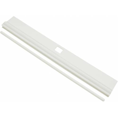 GARDINIA Sichtschutzbefestigung »Lamellenhalter«, , Lamellenvorhänge, (10-tlg), Serie Lamellenvorhänge