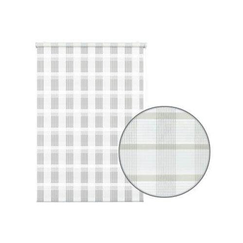 GARDINIA Seitenzugrollo »Mini Doppelrollo Karo«, , Lichtschutz, ohne Bohren, freihängend