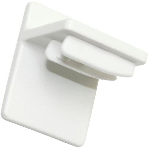 WOHNIDEE-Kollektion Sichtschutzbefestigung »Plissee Klebeträger«, , Plissees, (4-tlg)