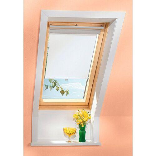 VELUX Sichtschutzrollo , für Fenstergröße 204 und 206, weiß, weiß
