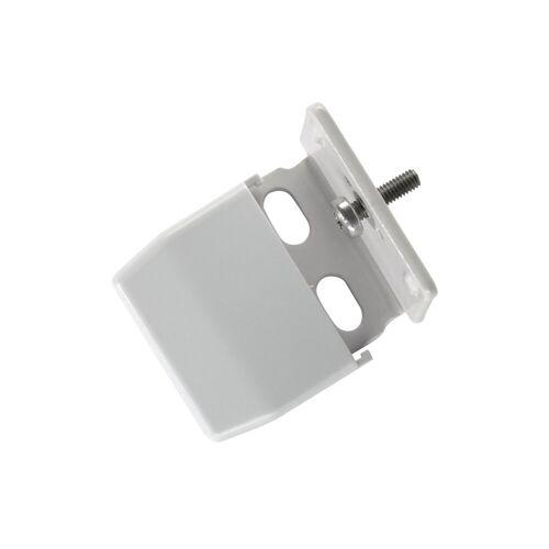 sunlines Sichtschutzzüge Montagezubehör, , Plissees, (Packung, 5-tlg), für die Rahmen/-Wandmontage von Plissees, grau-silberfarben