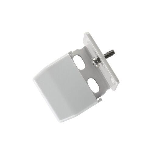sunlines Sichtschutzzüge Montagezubehör, , Plissees, (Packung, 4-tlg), für die Rahmen/-Wandmontage von Plissees, grau