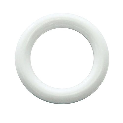 GARDINIA Gardine »Kunststoff-Ring weiß cm«,