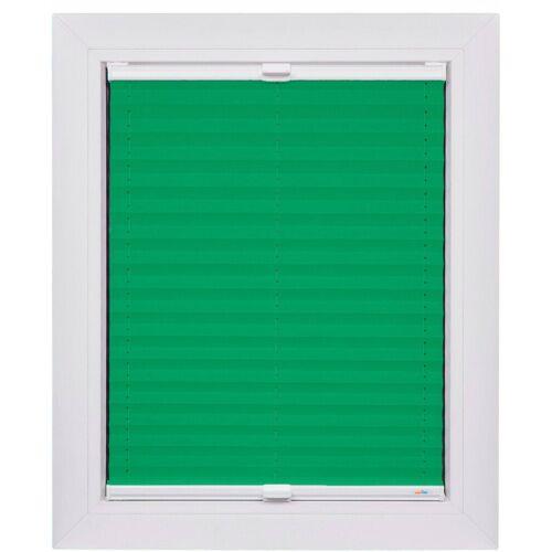 sunlines Plissee nach Maß »Start-up Style Transparenz«, , Lichtschutz, verspannt, Transparenter Stoff, grün-weiß