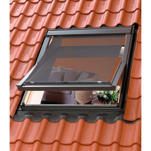 VELUX Dachfensterrollo, , blickdicht, Hitzeschutzmarkise für Dachfenstergröße: 204/206