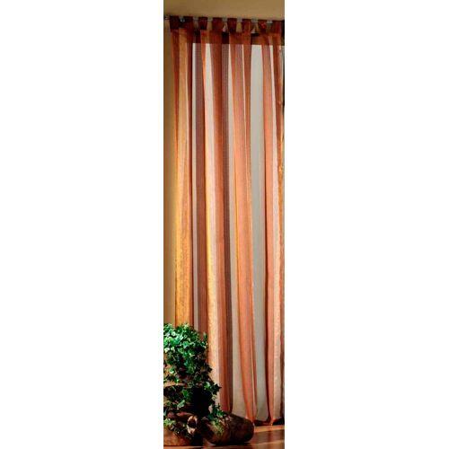 Weckbrodt Vorhang »Tom«, , Schlaufen (1 Stück), Schlaufen, nugat