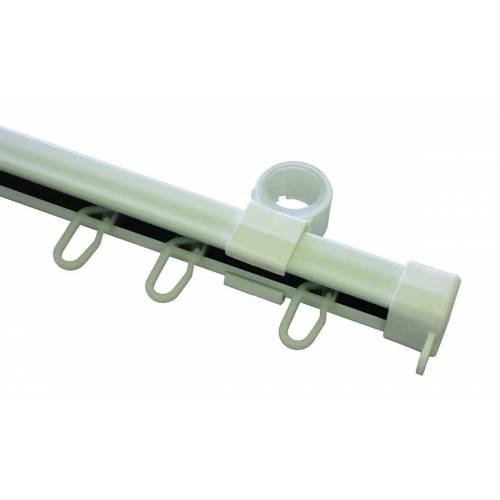 GARDINIA Schienensystem »U-Laufschiene weiß 190 cm«,