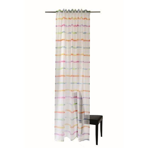 HOMING Vorhang, , Schlaufenschal Fun 140x245 Vorhang Wohnzimmer Kinderzimmer transp. bunt