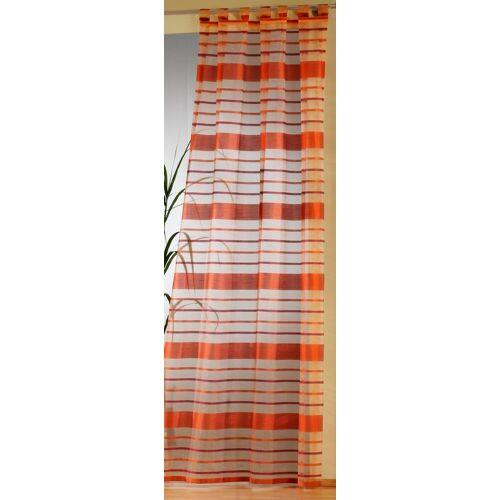 Weckbrodt Vorhang »Vera«, , Schlaufen (1 Stück), Schlaufen