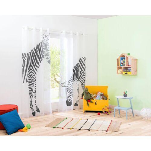 my home Gardine »Zebra«, , Ösen (2 Stück)