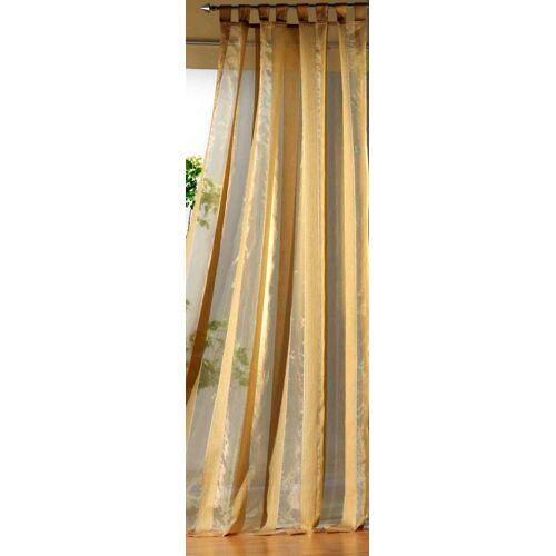 Weckbrodt Vorhang »Tom«, , Schlaufen (1 Stück), Schlaufen, mais
