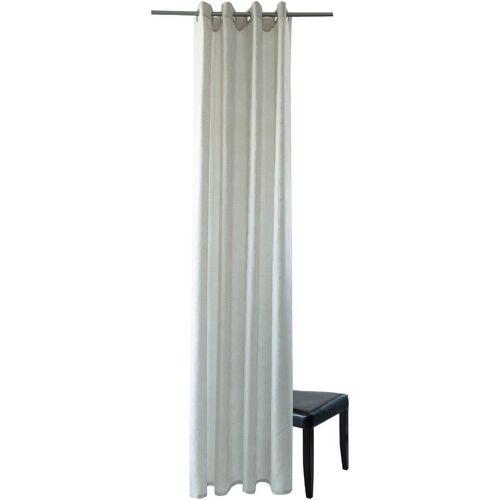 """HOMING Vorhang »Bali«, , Ösen (1 Stück), Vorhang """" Bali"""", creme"""