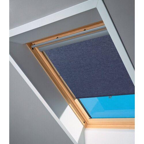 VELUX Sichtschutzrollo , für Fenstergröße 204 und 206, blau, blau